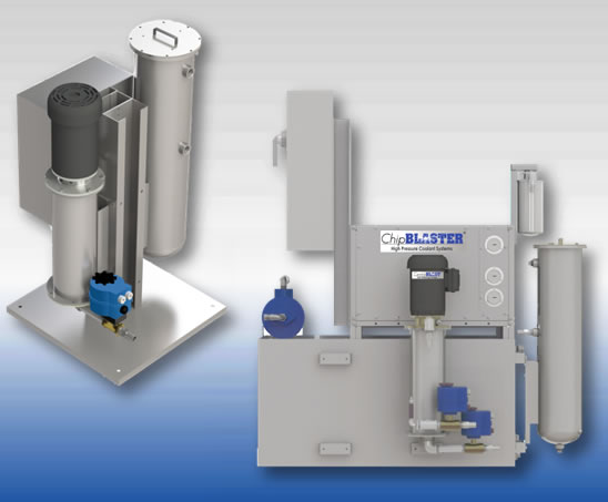 Dayton High Pressure Coolant Pumps : High pressure coolant systems chipblaster