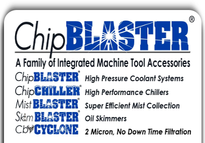 ChipBlaster - A Family of Integrated Machine Tools and Accessories