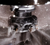 face mill with hi pressure coolant